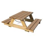 Puutarhapöytä lapsille