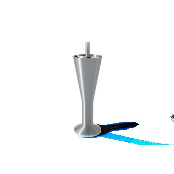 Šampuseklaasi kujuline metalljalg, 12cm