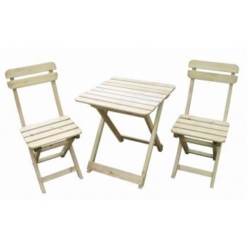 Kokkupandavad laud ja toolid