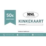 MSL e-poe kinkekaart